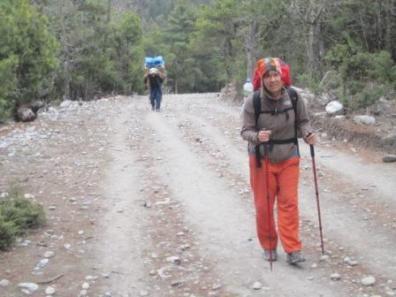 8 kg Gepäck in Nepal