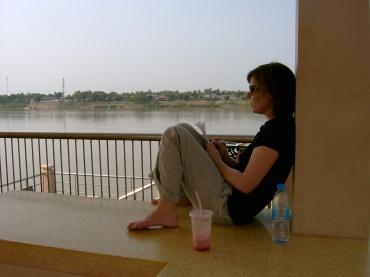 Schreiben am Mekong