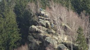 Treppen im Ziegenrückenfelsen