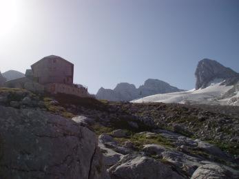 Adamekhütte am Dachsteingletscher