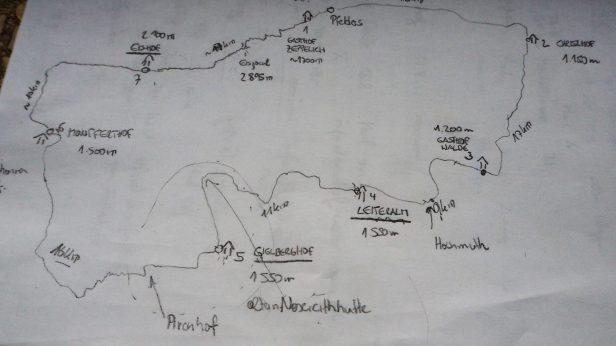 Anwolf - Unterwegs am Meraner Höhenweg