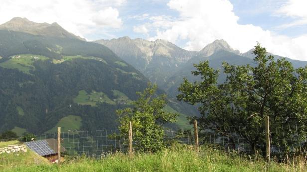Blick auf Sarntaler Alpen