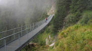 Hängebrücke Meraner Höhenweg