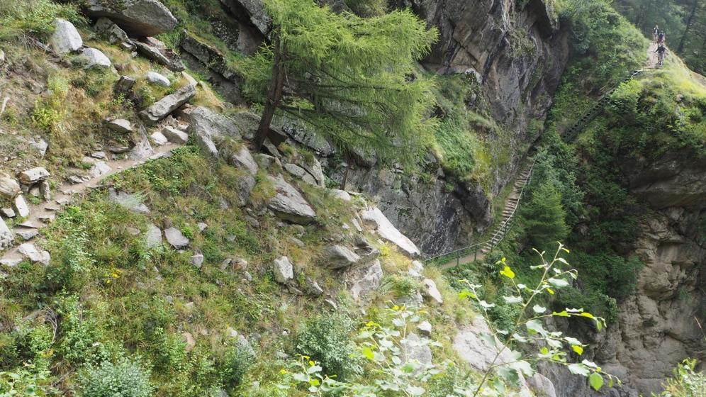 1000 - Stufen - Schlucht