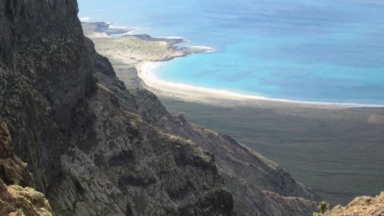 Blick auf Playa de Famara