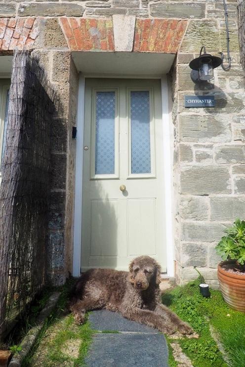 ... in unserem kleinen Haus in St. Agnes
