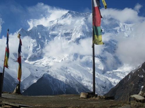 Blich auf das Annapurna Massiv
