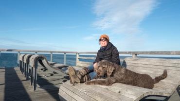 Heiligenhafen mit Hund (13)