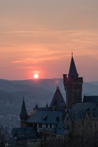 Sonnenuntergang Schloss Wernigerode (1)