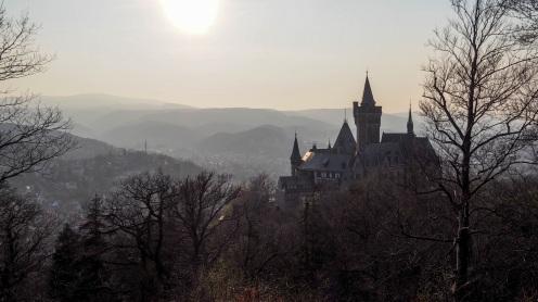 Sonnenuntergang Schloss Wernigerode (10)