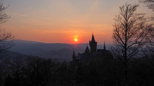Sonnenuntergang Schloss Wernigerode (12)