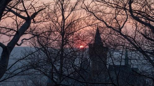 Sonnenuntergang Schloss Wernigerode (2)