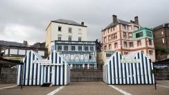 Yport Normandie mit Hund (6)