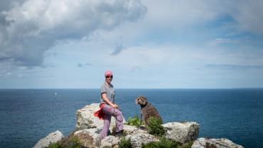 Wandern am Zöllnerweg Crozon Bretagne (18)