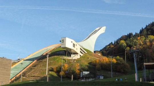 Skisprungschanze Garmisch (2)