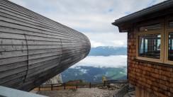 Aussichtsröhre Bergstation Karwendel