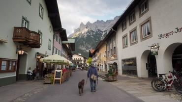Mittenwald mit Hund